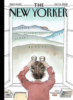Room With A View Photograph - The New Yorker Cover - October 6th, 2008 by Conde Nast