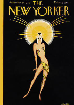 Aida Photograph - The New Yorker Cover - September 19th, 1925 by Conde Nast