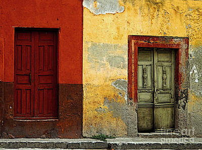 Portal Photograph - The Next Door by Mexicolors Art Photography