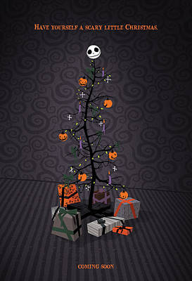 The Nightmare Before Christmas Alternative Poster Print by Christopher Ables