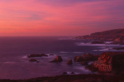 The North Coast - Highway One Print by Soli Deo Gloria Wilderness And Wildlife Photography
