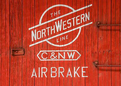 The Northwestern Line Print by Todd Klassy