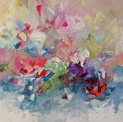 The Ocean Wild Print by Linda Monfort