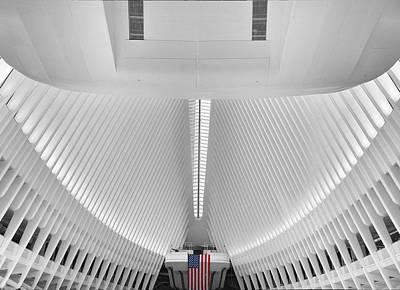 Ground Zero Digital Art - The Oculus by Jessica Jenney