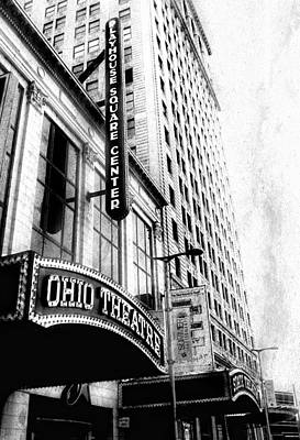 Ohio Photograph - The Ohio And State Theatres by Kenneth Krolikowski