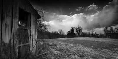 Barn Photograph - The Old Barn by Benjamin DeHaven
