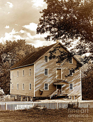 Old Mills Photograph - The Old Gristmill  by Olivier Le Queinec