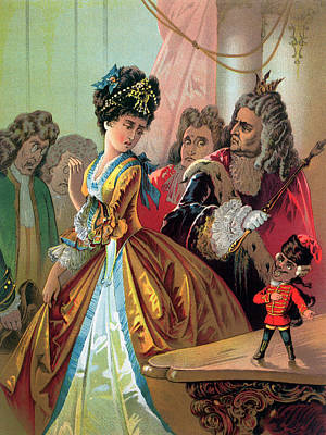 The Old King And The Nutcracker Prince Print by Carl Offterdinger