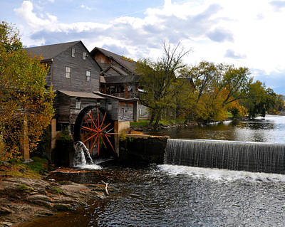 The Old Mill Print by Brittany H