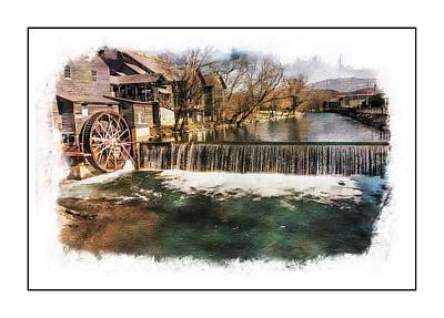 The Old Mill Original by Ches Black