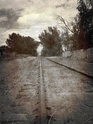 The Old Railroad Tracks Print by Glenn McCarthy Art and Photography