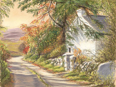 The Old School House Galway Print by Irish Art