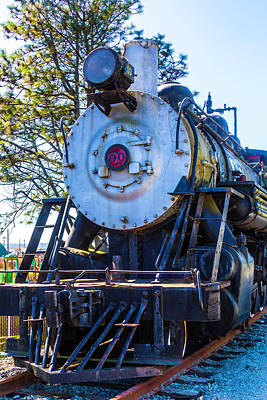 Old Trains Photograph - The Old Southern Pacific Lines Engine 90 by Garry Gay