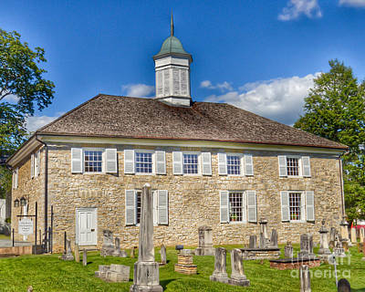 Buildings Photograph - The Old Stone Church Lewisburg West Virginia by Kerri Farley