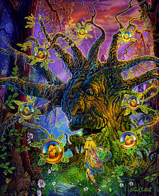 The Old Tree Of Dreams Print by Steve Roberts