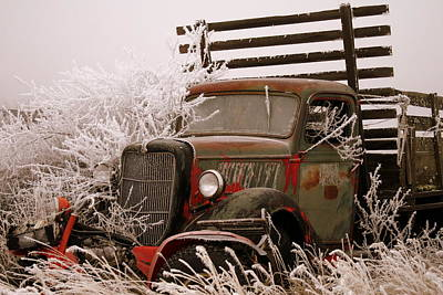 The Old Truck Print by JoJo Photography