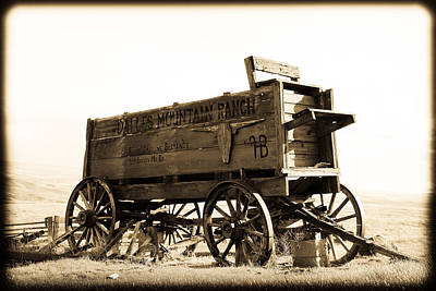 The Old Wagon Print by Steve McKinzie