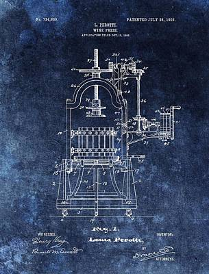 The Old Wine Press Print by Dan Sproul
