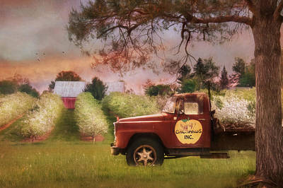 The Orchard Truck Print by Lori Deiter