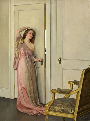 Painting - The Other Door by William McGregor Paxton