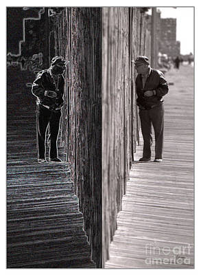 Spiritual Photograph - Both Sides Of The Fence by Jeff Breiman