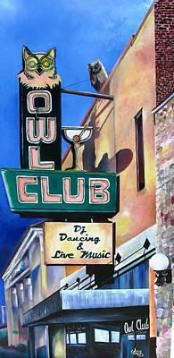 The Owl Club Original by Arry Murphey