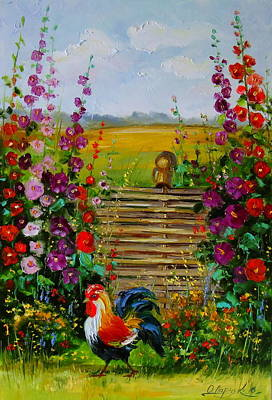 The Owner Of The Village Original by Olha Darchuk