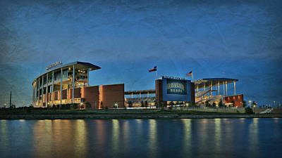 Cheerleaders Photograph - The Palace On The Brazos by Stephen Stookey