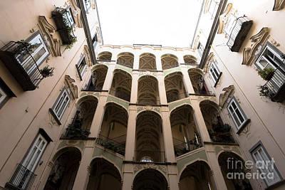 The Palazzo Dello Spagnolo  Print by Massimo Lama