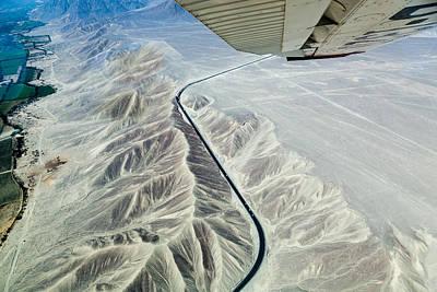 Peru Photograph - The Pan-american Highway by Franco Farinati