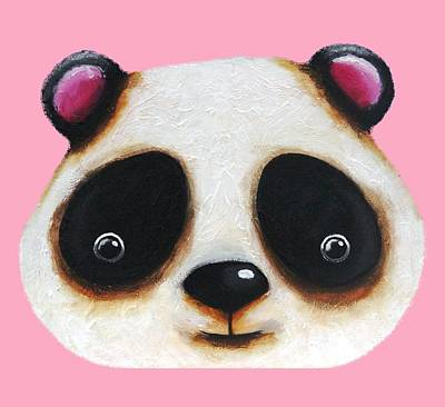 Painting - The Panda Bear by Lucia Stewart