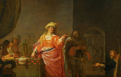 Nikolaus Knuepfer Painting - The Parable Of The Wise Stewart by Nikolaus Knuepfer