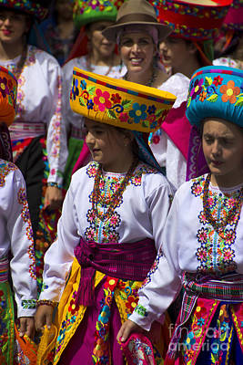 Troupe Photograph - The Pase Del Nino Parade Is World Famous by Al Bourassa