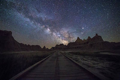 Astros Photograph - The Path by Aaron J Groen
