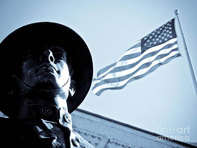 Fine Art Choices Photograph - The Patriot Theme by Syed Aqueel
