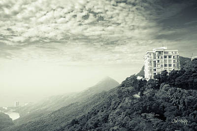Hong Kong Digital Art - The Peak by Joseph Westrupp