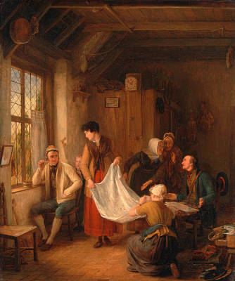 Painting - The Pedlar by David Wilkie