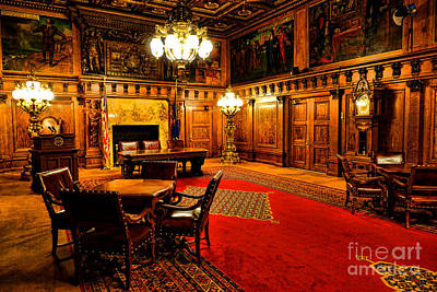 Capitol Building Photograph - The Pennsylvania Governor Office by Olivier Le Queinec