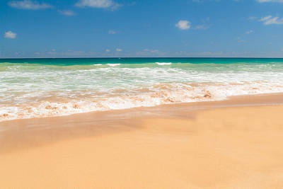 The Perfect Beach - Kapaa Kauai Hawaii Print by Brian Harig