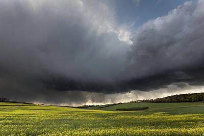 The Perfect Storm Print by Ian Hufton