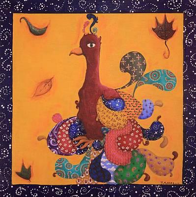 Phoenix Painting - The Phoenix by Jennifer Lynch