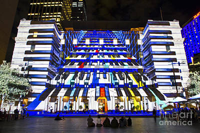 Photograph - The Piano - Customs House - Sydney by Bryan Freeman