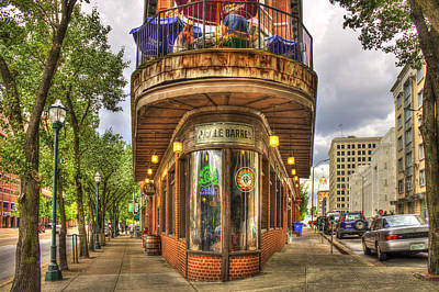 The Pickle Barrel Too Chattanooga Tennessee Print by Reid Callaway