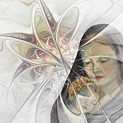 Luminous Drawing - The Picture Behind The Fractal -15- by Issabild -