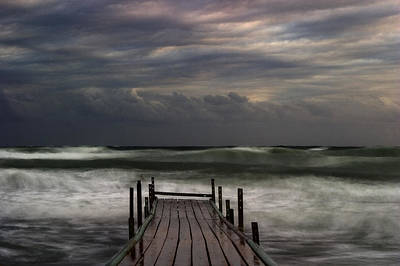 Cyprus Photograph - The Pier...ayia Napa by Stelios Kleanthous