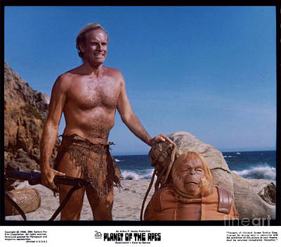 The Planet Of The Apes 1968 Print by The Titanic Project
