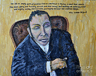 Bryant Painting - The Poet by Richard Wandell