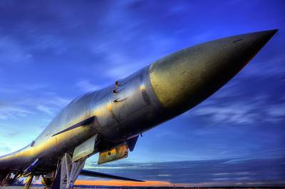 B1b Photograph - The Pointy End Of The Spear by JC Findley
