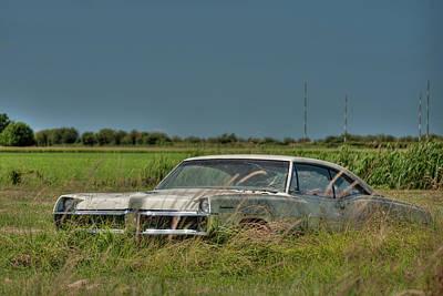 Antic Car Photograph - The Pontiac by Alexander Rozinov
