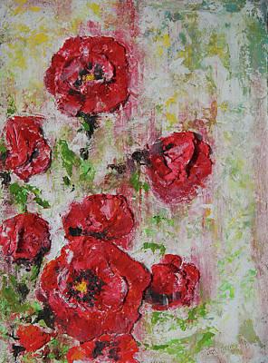 The Poppies Print by Tatiana Ilieva